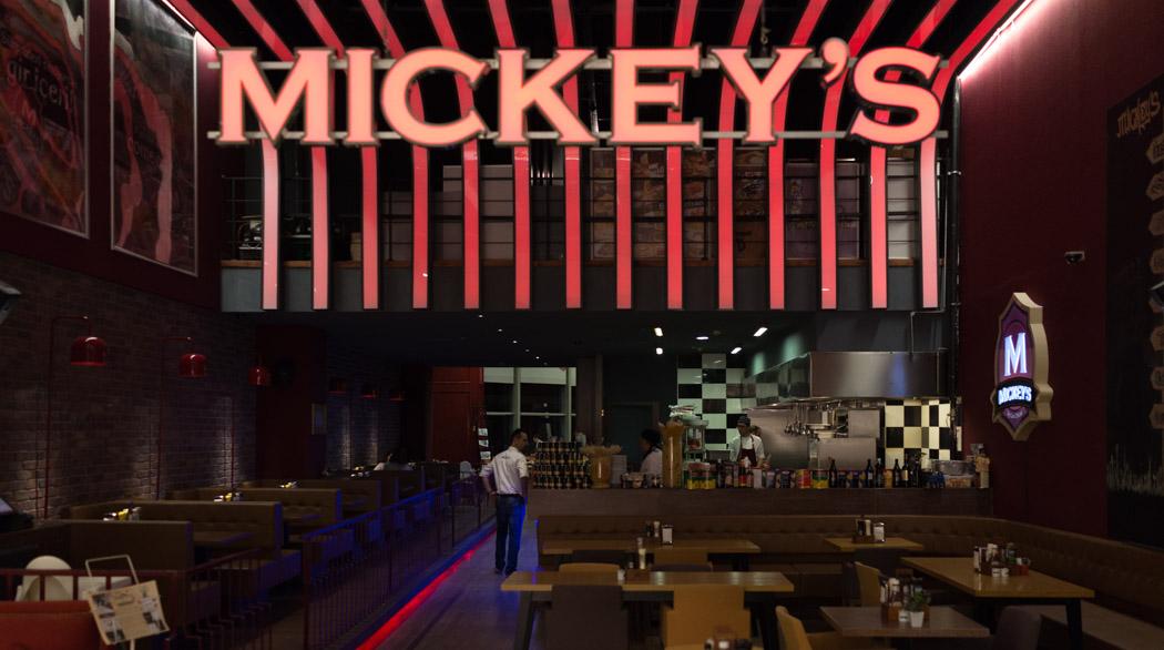 Mickey's Kentpark Giriş