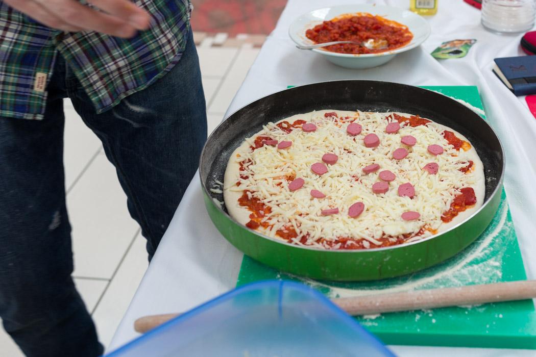 lezzetli yemekler atölyesi pizza hamuru