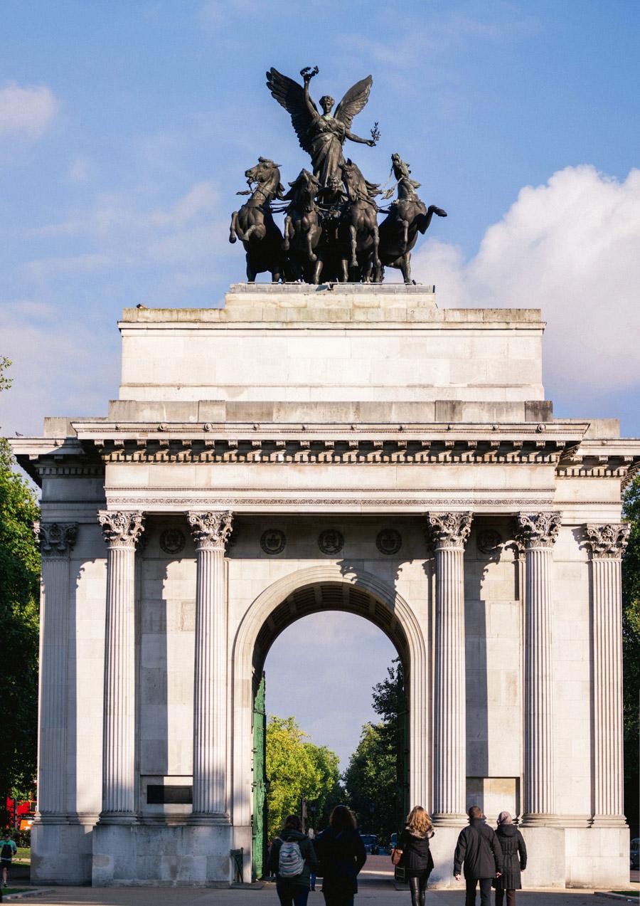 Wellington Arch - İş Gezisinin En Güzel Hali : Londra III
